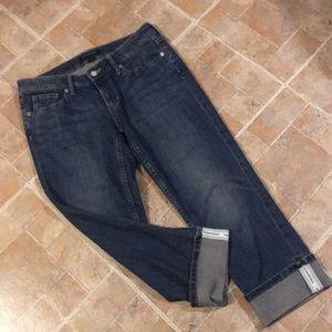 Banana Republic cropped jeans size women's 6